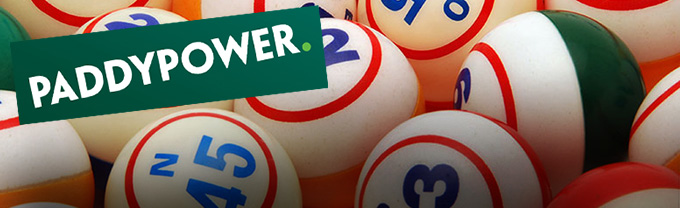 Paddypower Bingo: spend €5, play with €10!